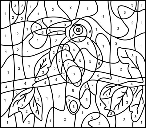 color by number animal coloring pages pinterest the world s catalog of ideas