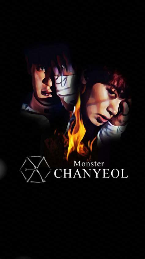 exo iphone wallpaper 2016 wallpaper exo 2016 monster teaser chanyeol by
