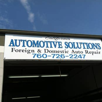 California Automotive Solutions   15 Reviews   Garages