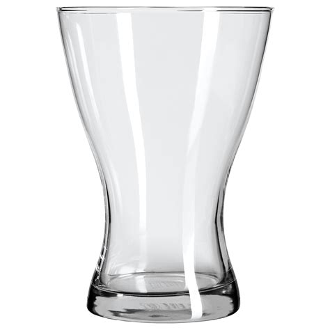 Vase Clear Glass by Vasen Vase Clear Glass 20 Cm