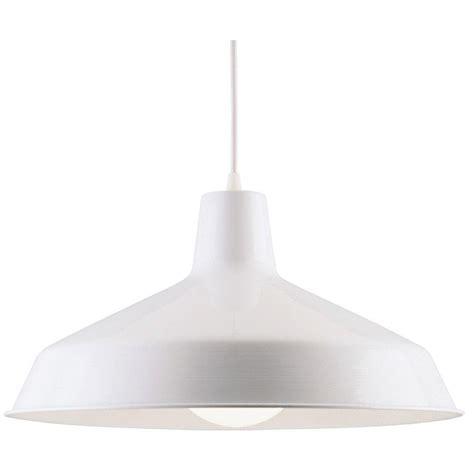 Pendant Light White Westinghouse 1 Light White Interior Pendant 6619800 The Home Depot