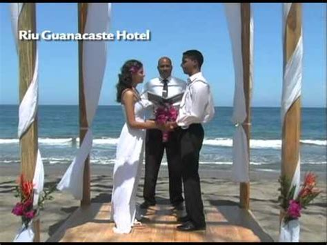 Costa Rica Weddings   Hotel RIU Guanacaste   YouTube