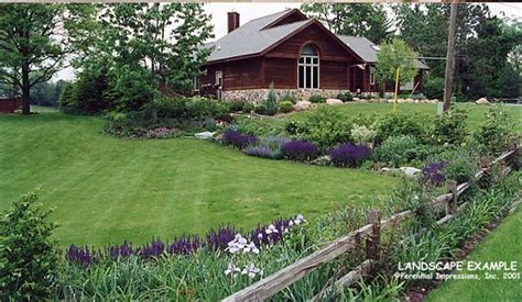 Country Backyard Landscaping Ideas Rural Landscaping Ideas Studio Design Gallery Best Design