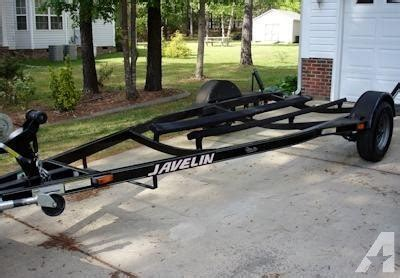 javelin boat trailer lights 2000 javelin boat trailer for sale in raleigh north