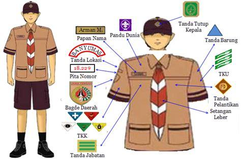 Bordir Badge Tanda Pandu Dunia Putra media belajar pakaian siaga putra lengkap