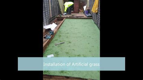 small garden inspiration idea artificial grass