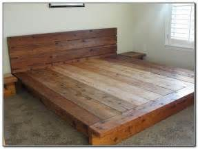 How To Make Your Own Platform Bed With Headboard by 17 Ideas About Diy Platform Bed Frame On Pinterest Diy