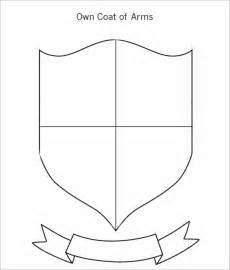 coat of arms template affordablecarecat
