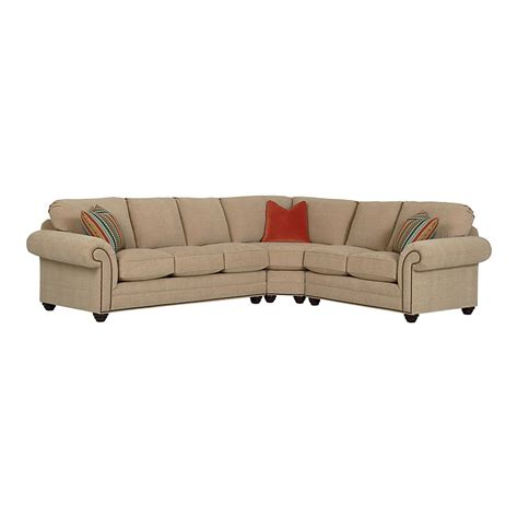 Bassett Sectional Sofa Large Custom Sectional By Bassett Furniture Bassett Sectional Sofas