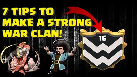 8 Tips To Make Your Bones Stronger by 7 Tips To Make A Strong War Clan
