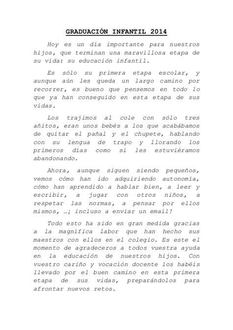 discurso para despedir egresados guadalajara discurso graduacion infantil junio 2014