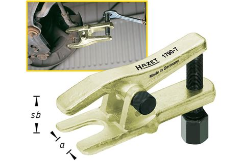 Universal Joint Puller 50mm hazet 1790 7 universal joint puller tool tie rod end