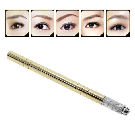 permanent tattoo pen gold microblading pen machine permanent makeup