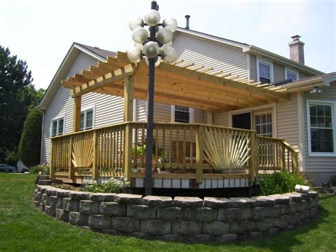 Multi Level Deck With Pergola Deck Design And Ideas Pergolas On Decks