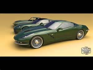zolland design chevrolet corvette  retro studio
