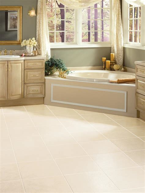 bathroom vinyl floor tiles vinyl bathroom floors hgtv