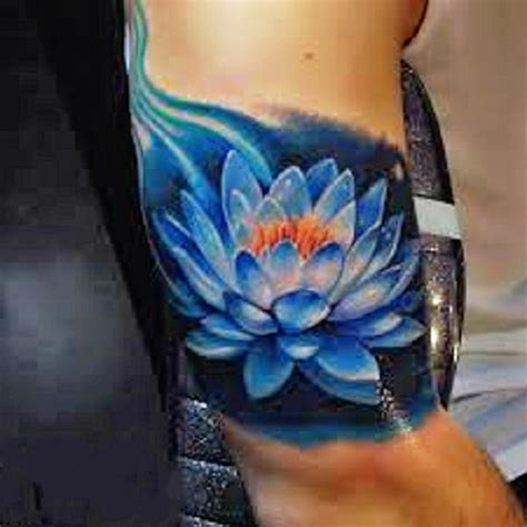 blue lotus flower tattoo 53 best lotus tattoos designs
