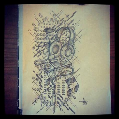 tattoo dj mp3 dj tattoo sketch by ranz tattoo art sketches all