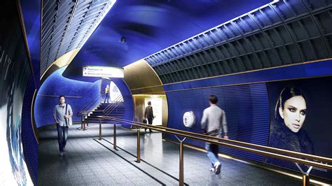 design museum london underground station london underground station design idiom nulty lighting