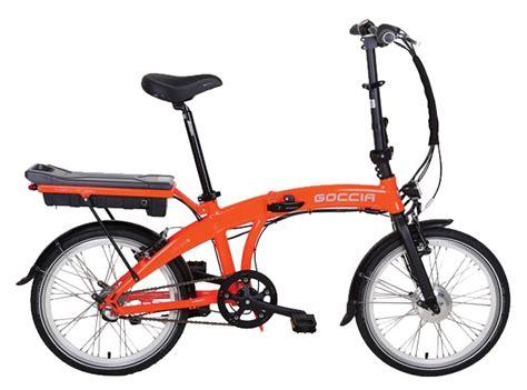 katlanir bisiklet goccia city  katlanabilir elektrikli