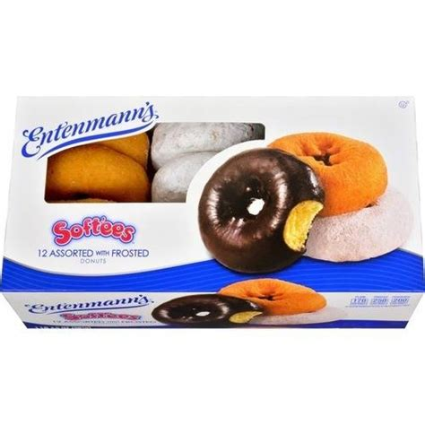Print Toaster Entenmann S Donuts W Frosted 12 Ct Softee Assorted 22 Oz