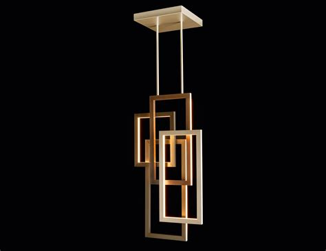 Lusso Edge Vertical Pendant Single Contemporary Italian Vertical Hanging Lights