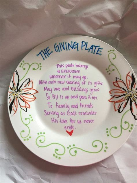 color me mine menlo park the giving plate custom plate by davistwinsdesign on etsy