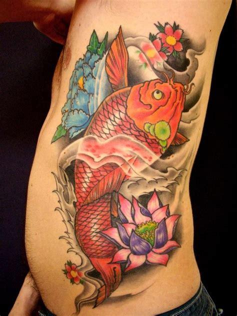 tattoo koi blumen 227 besten koi tattoos bilder auf pinterest asiatisch