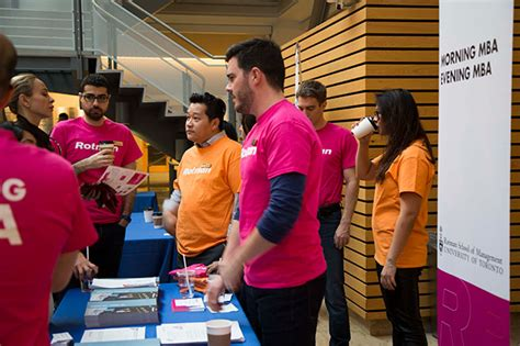 Mba Networking Events Toronto by Annual Rotman Open House Draws Interest A Recap