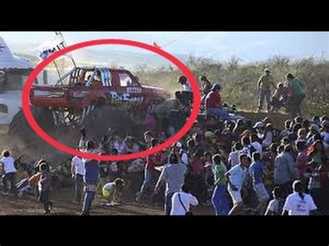 monster truck crash videos breaking monster truck accident deadly crash in mexico