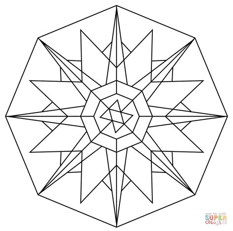 printable coloring pages kaleidoscope kaleidoscope printable coloring pages magnificent