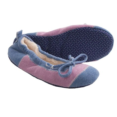 spa slippers acorn easy spa ballet slippers for 8884c save 81