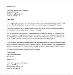 School Letter Of Recommendation Template 8 Letters Of Recommendation For Graduate School Free