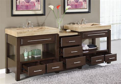 Bathroom Basin Ideas by Luxury Bathroom Double Sink Vanities 6797