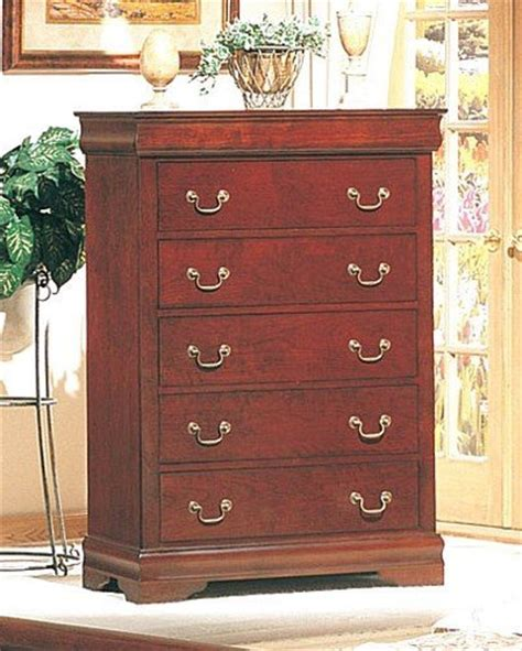 black friday coaster louis philippe style chest dresser