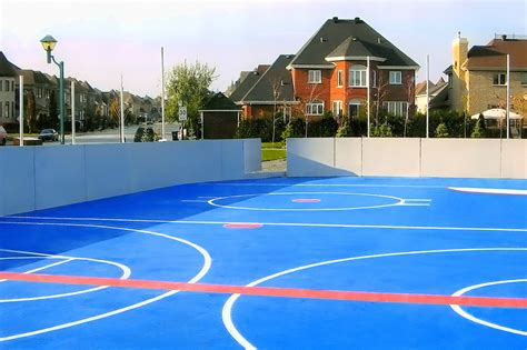 backyard roller hockey rink backyard ice rinks build a home ice rink and bring on the