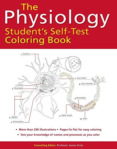 the physiology coloring book review the physiology student s self test coloring book harvard