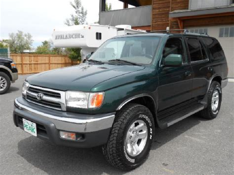 Toyota Four Runner 2000 2000 Toyota 4runner Information And Photos Momentcar