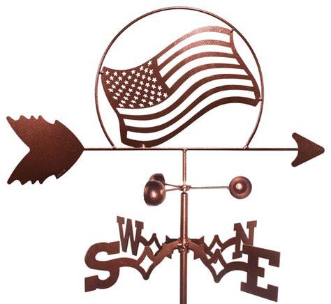 american banner weathervane american flag weathervane traditional weather vanes