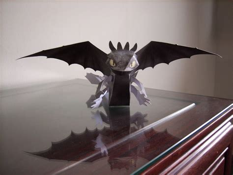 How To Make Toothless Out Of Paper - toothless the programmer