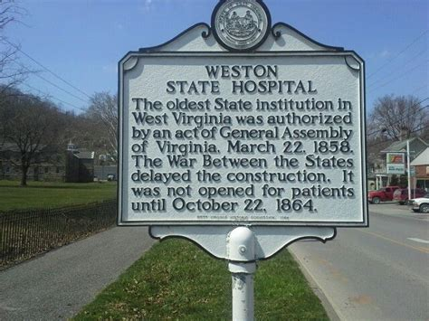 Weston State Hospital Records Weston Wv Technically Not A Prison But Since Were Often Involuntarily