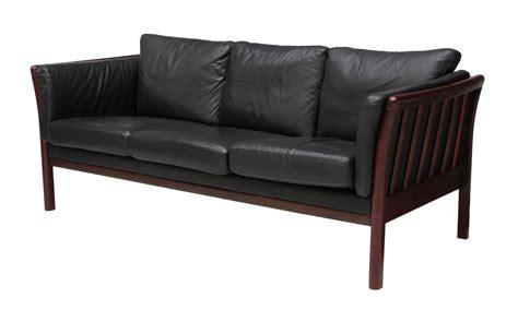 mid century modern leather sofa mid century modern black leather sofa june mid