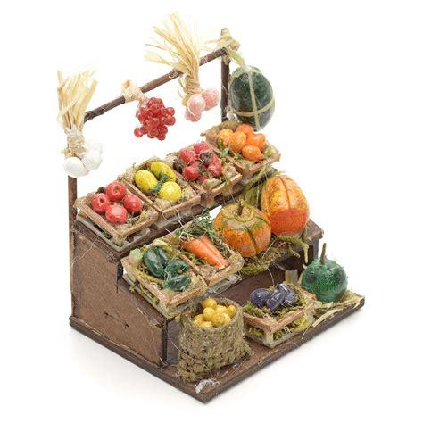 banco frutta banco frutta presepe napoletano cm 8 vendita su