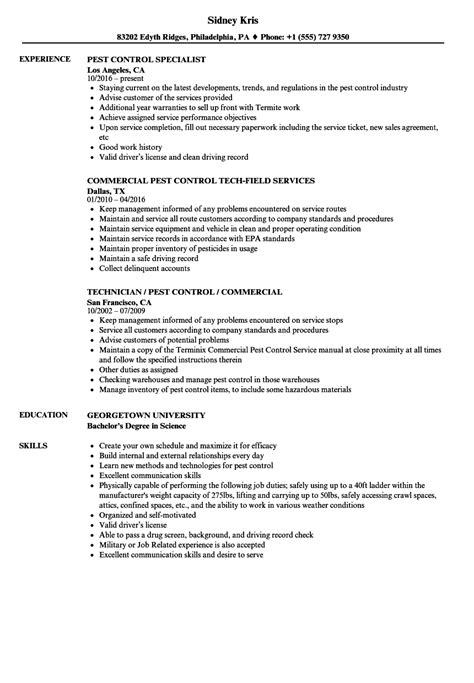 pest control service contract template awesome pest control resume