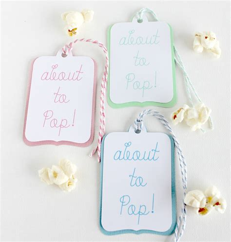 About To Pop Baby Shower by About To Pop Baby Shower Popcorn Favor Tags Hymns And Verses