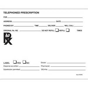 printable blank prescription www imgkid com the image