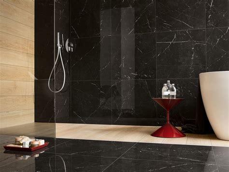 piastrelle finto marmo gres porcellanato lappato effetto marmo marquinia nero