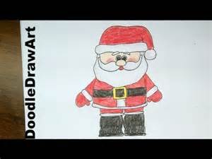 Drawing Santa Claus Step By Step » Home Design 2017