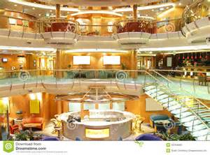 luxury cruise ship interior editorial image image 20764690