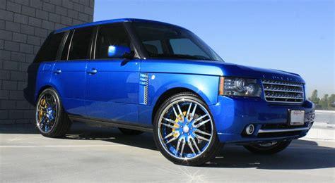 blue range rover 50 cent s blue range rover carz
